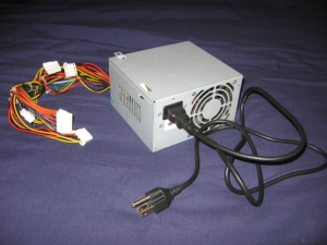 Cheap No-Name Brand Power Supply Unit that Came with a Case Bundle