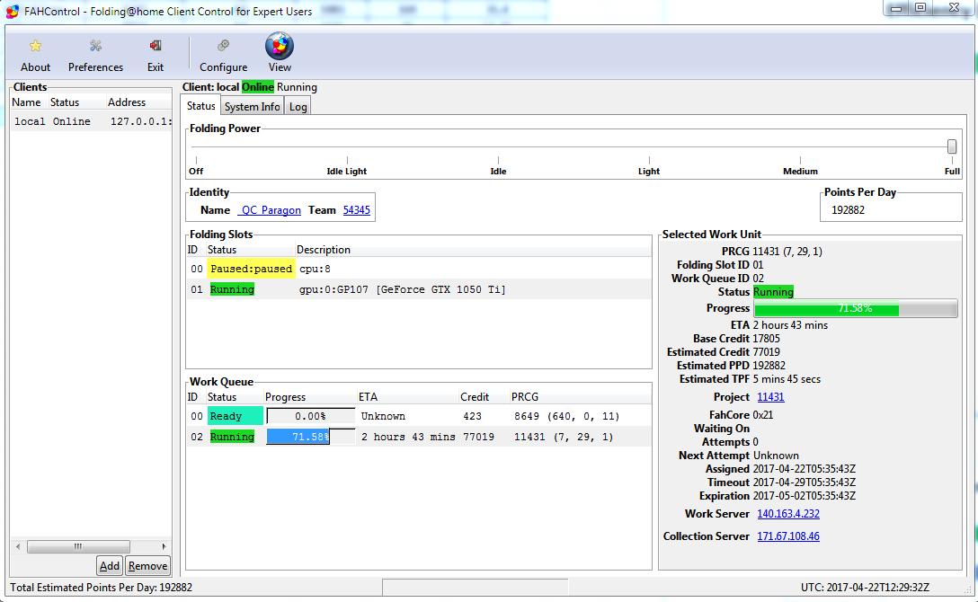 Folding@Home Performance on a Budget: Nvidia GeForce GTX