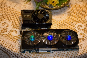 Graphics Card Showdown: EVGA Nvidia Geforce GTX 1050 TI vs. Gigabyte AMD Radeon HD 7970 GHz Edition