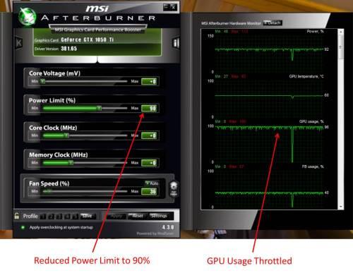 GTX 1050 Throttled