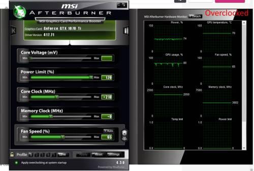Nvidia 1070 TI OC