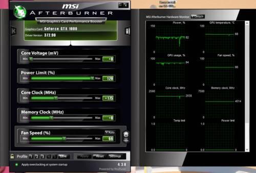 GTX 1080 MSI Afterburner