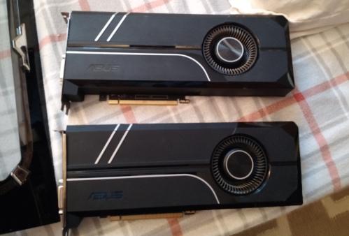 Asus GTX 1080 and 1070 Ti