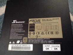 Seasonic Focus Gold Specs