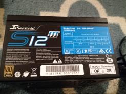 Seasonic S12 III Specs